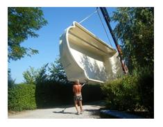 Livraison coque piscine - Installation Piscine Coque Polyester