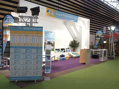 Actualit s salons expos for Piscine coque usine